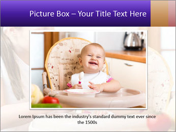 Baby Eating Time PowerPoint Template - Slide 15