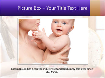 Baby Eating Time PowerPoint Template - Slide 16
