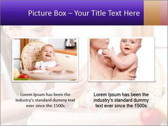 Baby Eating Time PowerPoint Template - Slide 18