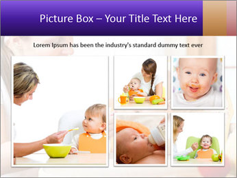 Baby Eating Time PowerPoint Template - Slide 19