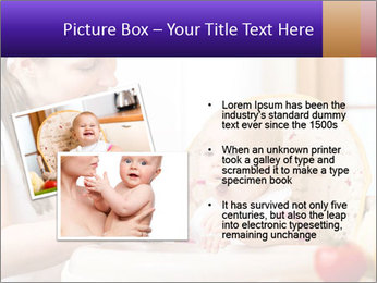 Baby Eating Time PowerPoint Template - Slide 20