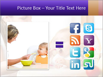 Baby Eating Time PowerPoint Template - Slide 21
