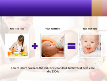 Baby Eating Time PowerPoint Template - Slide 22