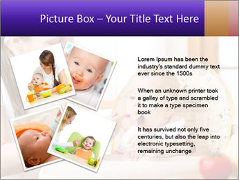Baby Eating Time PowerPoint Template - Slide 23