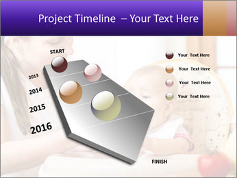 Baby Eating Time PowerPoint Template - Slide 26