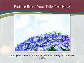Flowerd In Medow PowerPoint Template - Slide 16