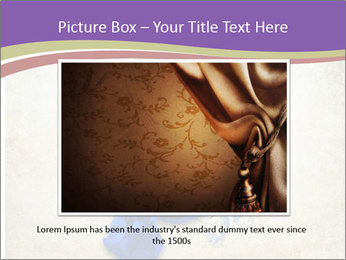 Blue Butterfly Drawing PowerPoint Template - Slide 15