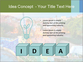 Gaudi Art PowerPoint Template - Slide 80
