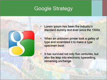 Spanish Gaudi Building PowerPoint Template - Slide 10