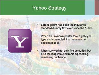 Spanish Gaudi Building PowerPoint Template - Slide 11