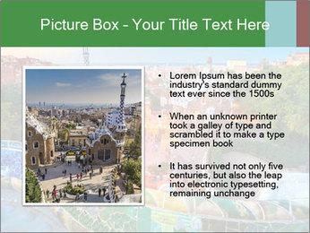 Spanish Gaudi Building PowerPoint Template - Slide 13