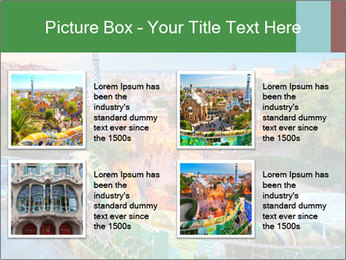 Spanish Gaudi Building PowerPoint Template - Slide 14
