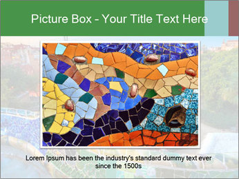 Spanish Gaudi Building PowerPoint Template - Slide 15