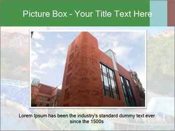 Spanish Gaudi Building PowerPoint Template - Slide 16