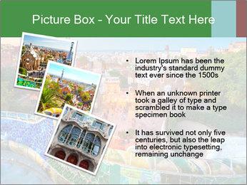 Spanish Gaudi Building PowerPoint Template - Slide 17