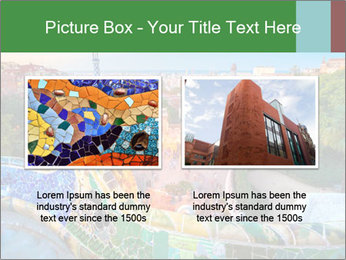 Spanish Gaudi Building PowerPoint Template - Slide 18
