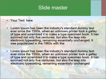 Spanish Gaudi Building PowerPoint Template - Slide 2