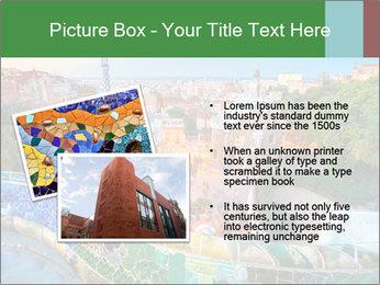 Spanish Gaudi Building PowerPoint Template - Slide 20