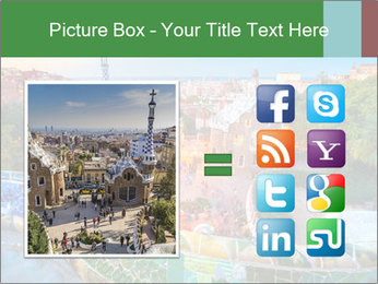 Spanish Gaudi Building PowerPoint Template - Slide 21