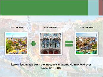 Spanish Gaudi Building PowerPoint Template - Slide 22