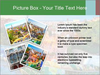 Spanish Gaudi Building PowerPoint Template - Slide 23