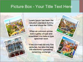 Spanish Gaudi Building PowerPoint Template - Slide 24