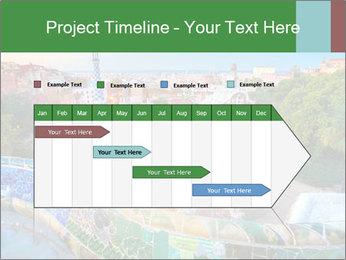 Spanish Gaudi Building PowerPoint Template - Slide 25