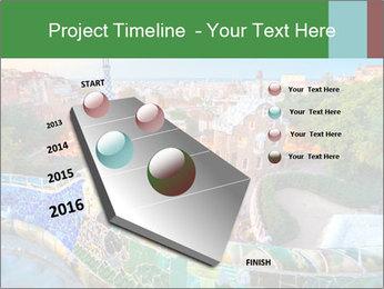 Spanish Gaudi Building PowerPoint Template - Slide 26