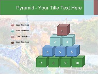 Spanish Gaudi Building PowerPoint Template - Slide 31