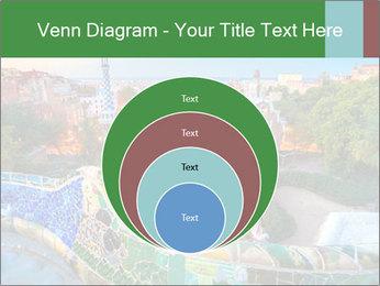 Spanish Gaudi Building PowerPoint Template - Slide 34