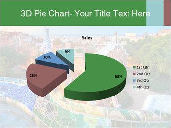 Spanish Gaudi Building PowerPoint Template - Slide 35
