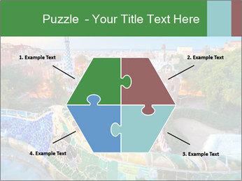 Spanish Gaudi Building PowerPoint Template - Slide 40