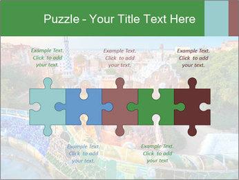 Spanish Gaudi Building PowerPoint Template - Slide 41