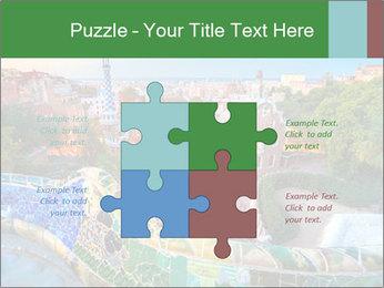 Spanish Gaudi Building PowerPoint Template - Slide 43
