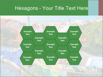 Spanish Gaudi Building PowerPoint Template - Slide 44
