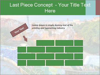 Spanish Gaudi Building PowerPoint Template - Slide 46