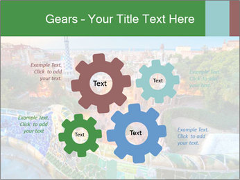 Spanish Gaudi Building PowerPoint Template - Slide 47
