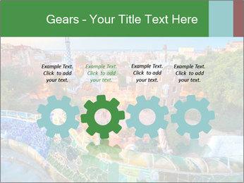 Spanish Gaudi Building PowerPoint Template - Slide 48