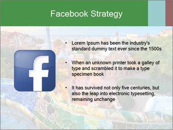 Spanish Gaudi Building PowerPoint Template - Slide 6