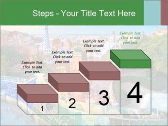 Spanish Gaudi Building PowerPoint Template - Slide 64