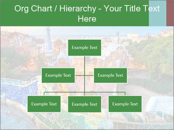 Spanish Gaudi Building PowerPoint Templates - Slide 66