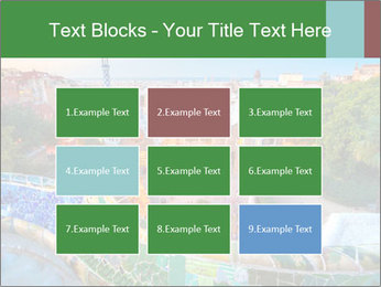 Spanish Gaudi Building PowerPoint Templates - Slide 68