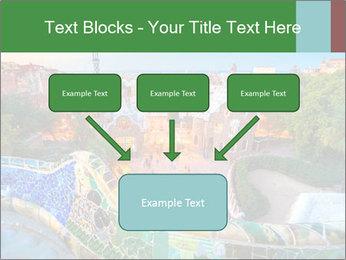 Spanish Gaudi Building PowerPoint Template - Slide 70