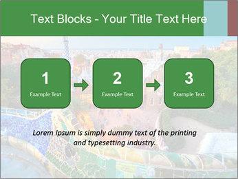 Spanish Gaudi Building PowerPoint Template - Slide 71