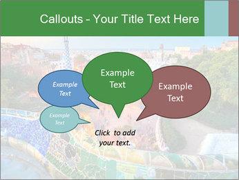 Spanish Gaudi Building PowerPoint Template - Slide 73
