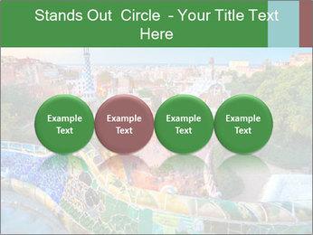 Spanish Gaudi Building PowerPoint Template - Slide 76