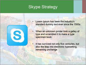 Spanish Gaudi Building PowerPoint Template - Slide 8