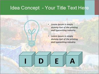 Spanish Gaudi Building PowerPoint Template - Slide 80