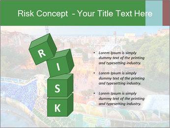 Spanish Gaudi Building PowerPoint Template - Slide 81