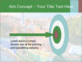 Spanish Gaudi Building PowerPoint Template - Slide 83